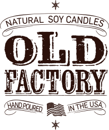 Man Cave Leather Old Factory Scented Candles and Set of 3: Straight Razor