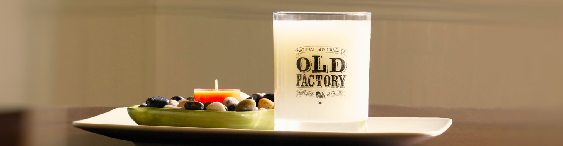 Old Factory Candles - Lusciously Scented Candles Made from